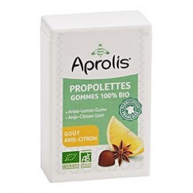 Photo Propolettes Anis-Citron Bio Aprolis