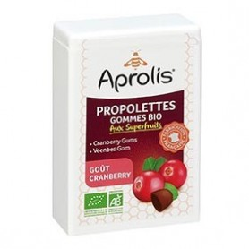 Photo Propolettes Superfruits Cranberry Bio Aprolis