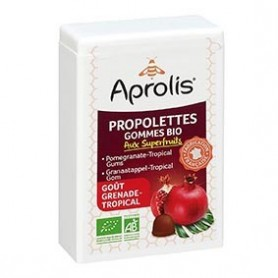 Photo Propolettes Superfruits Grenade Tropical Bio Aprolis