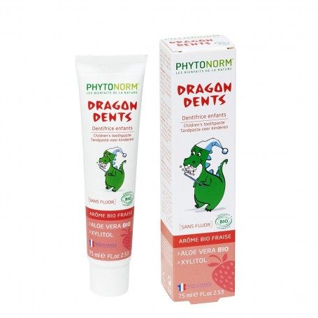 Dragondents goût Fraise 75ml Bio